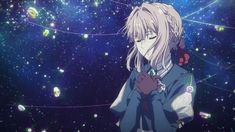 Find images and videos about gif, anime and asian on We Heart It - the app to get lost in what you love. Anime Gifs, Manga Anime, Violet Evergreen, Animation Storyboard, Violet Evergarden Anime, Kyoto Animation, Animated Icons, Another Anime, Estilo Anime
