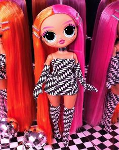 dolls are cool because they are kinda like L. dolls, but they are like Barbie L. dolls, which I think is cool. Lol Dolls, Cute Dolls, Barbie Doll Set, Barbie Fashionista Dolls, Diy Crafts For Girls, Cute Cartoon Girl, Smart Doll, Cute Outfits For Kids, Toys For Girls