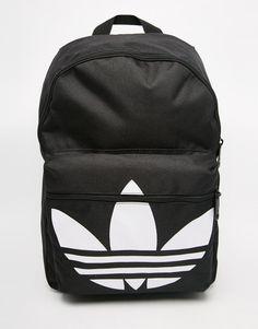 adidas+Originals+Classic+Backpack+in+Black