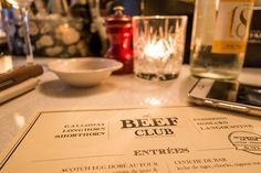 Restaurante em Paris: The Beef Club