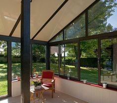 aménagement terrasse - espace de vie en plus