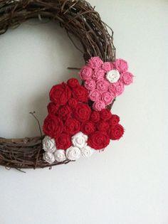 Valentine Burlap Hearts Removable Wreath by redesignaccessories, $24.00