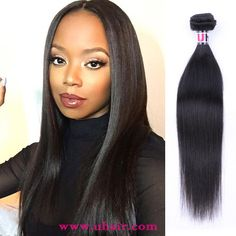 Natural Color Indian Virgin Hair Straight With 360 Lace Remy Human Hair Extensions Indian Hairstyles, Weave Hairstyles, Straight Hairstyles, Virgin Hair Extensions, Remy Human Hair, Lace Frontal, Color, Colour, Braided Hairstyles