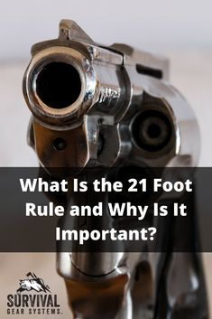 In Case You Missed: What Is the 21 Foot Rule and Why Is It important? Survival Supplies, Survival Tools, Survival Prepping, Emergency Preparedness, Survival Mode, Survival Stuff, Survival Weapons, Apocalypse Survival, Zombie Apocalypse