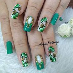 Pin Up, Nail Designs, Nail Art, Turquoise, Nails, Jewelry, Nail Jewels, Art Nails, Korean Nails