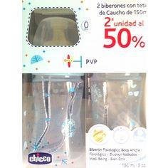 PACK BIBERON CAUCHO  150 ML