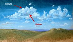 How to Draw Clouds with Chalk Pastels