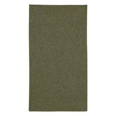 Manteo 0050 Vertical Stripe Braided Rectangle Area Rug - Deep Green - 0050RS09060906200