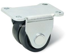 45.00$  Buy here - http://ali9ra.worldwells.pw/go.php?t=32630519616 - free shipping caster nylon wheel Material Handling Equipment Part Horizontal adjustment supporting caster Trolley wheel hardwaer