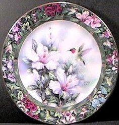 unusual plate, so pretty.