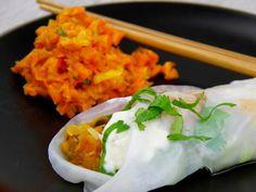 http://www.vegan.at/kulinarik/rezepte/indische-sommerrollen-mit-linsen-koriander-fuellung-und-karotten-mango-salat?utm_source=14. September