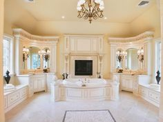 Luxury Master Bathroom Designs luxury bathrooms-showers@luxurydotcom via houzz | bathtubs ideas