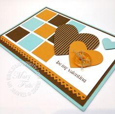 Valentine Heart, Valentines, Valentine Cards, Aquarium, Mary Fish, Pumps, Beautiful Handmade Cards, Retro Color, Card Making Inspiration