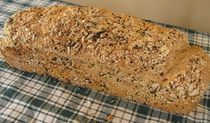 Sourdough Bread with Cornmeal and Seeds - Recipe for German Sourdough Bread: German Sourdough Bread Sourdough Recipes, Sourdough Bread, Bread Recipes, Austrian Recipes, German Recipes, German Bread, Bread Starter, The Good German, Our Daily Bread