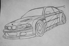 WIP : BMW M3 GTR NFS Most Wanted (2005) by Bloudy92