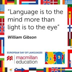 On the importance of language.