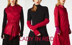 Lady in Red - Cora Kemperman december 2017