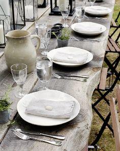 my outdoor table designed by roy hardin  photo by marili forastieri