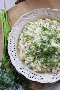 Sałatka grillowa z ziemniaków