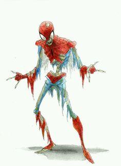 Spider-Man Zombie