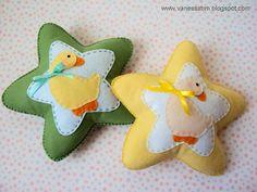 Vanessa Biali: Mini Almofadinhas para quarto de bebê
