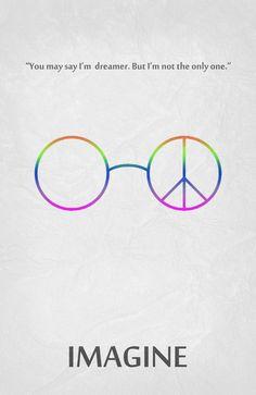 Imagine - John Lennon ~ Music Visualized by Begum Ozdemir