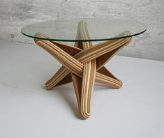 LOCK table basse en bamboo | Fubiz For SPOOTNIK
