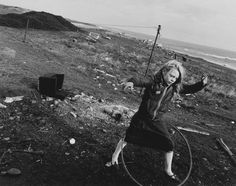 Christopher Killip's Helen and her Hula-hoop, Seacoal Camp, Lynemouth, Northumberland (1984) is part of the Hyman Collection's donation