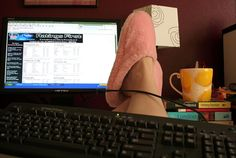the best thing about working from home is getting to wear pink fuzzy slippers all day while still getting paid :)    http://www.sfi4.com/14270724.0/Real2  Searching for a  RIGHTFUL way to earn  wealth online? L