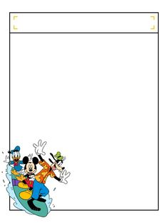 Journal Card - Top Box - Mickey and friends - surfing - 3x4 photo dis_300p_topbox_surf.jpg