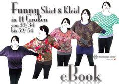 Funny ;D♡ ebook Kleid & Shirt Nähanleitung Schnitt