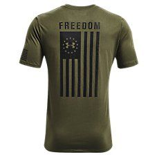 Under Armour Freedom By Sea T Shirt For Men Academy Steeltown Gold M Freedom Shirts Mens Tshirts Shirts