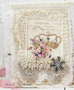 Hi there and welcome to the Pion Design blog! Today I have a shabby mini album to share featuring beautiful papers from the My Precious Daughter collection. I combined both 12″ x 12″ pa…