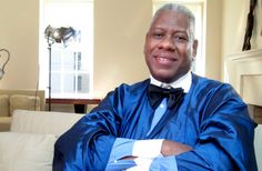 Andre Leon Talley Opens Up About Leaving Vogue and Working for Russians- A GREAT MAN!