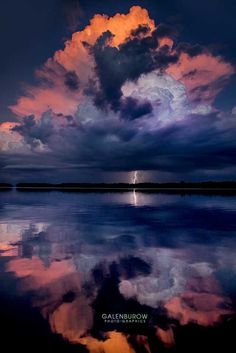 Reflecting sunset strike - Lightning Strikes at sunset over Tampa Bay. Relax with this nature photo. Beautiful Sky, Beautiful Landscapes, Beautiful World, Landscape Photography, Nature Photography, Photography Tips, Lightning Photography, Portrait Photography, Sweets Photography
