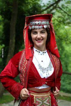 Bridal costume of Mirdita, Albania