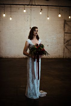 Moody Warehouse Bridal Inspiration