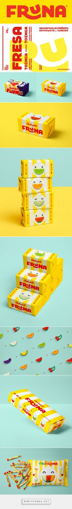 Brand New: New Logo and Packaging for Fruna by Brandlab - created via https://pinthemall.net