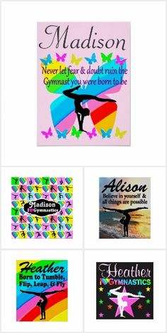 Gymnastics Posters Inspire your awesome Gymnast with our motivational personalized Gymnastics posters. http://www.zazzle.com/collections/gymnastics_posters-119202332926622403?rf=238246180177746410 #Gymnastics #Gymnast #WomensGymnastics #Gymnastposter #Gymnasticsposter #Personalizedgymnast