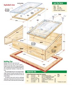 Greenhouse Plans 431923420503852420 - 10 Easy Cold Frame Plans To Extend The Growing Season Lean To Greenhouse, Greenhouse Plans, Greenhouse Gardening, Winter Plants, Winter Garden, Cold Frame Gardening, Bokashi, Home Vegetable Garden, Garden Structures