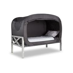 "Privacy Pop's ""The Bed Tent"" - Can be used with common size beds and mattresses; Features: Provided Solitude and Seclusion, Private Oasis, and Reduces Outside Light."