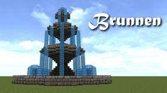 Minecraft Tutorial - Brunnen bauen - build a Fountain