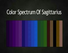 Color spectrum of Sagittarius Zodiac Signs Sagittarius, Zodiac Horoscope, My Zodiac Sign, Astrology Signs, Zodiac Memes, Zodiac Art, Libra Zodiac, Aquarius, Yen Yang