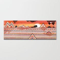 Journey Stretched Canvas by Sandra Dieckmann - $85.00