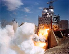 The amazing system that tested the most powerful rocket engine ever