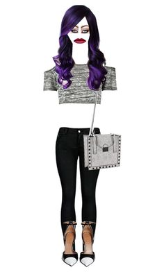 """""""Purple Hair"""" by magicalcb ❤ liked on Polyvore"""