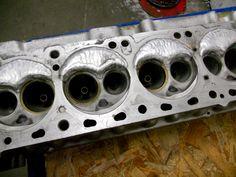 My Rebello welded n42 head  before porting