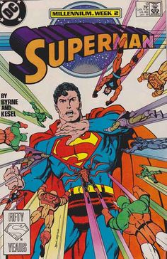 Superman Comics Vol. Superman is a fictional comic book superhero appearing in publications by DC Comics, created by American writer Jerry Siegel and Canadian-born American artist Joe Shuster in 1932 Superman V, Superman Comic Books, Superman Family, Batman, Superman Artwork, Rare Comic Books, Comic Book Covers, Comic Books Art, Book Art