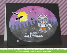 the Lawn Fawn blog: Two Fabulous Fall-themed cards by Nichol!