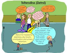 Nursing Mnemonics and Tips: Tolterodine (Detrol)